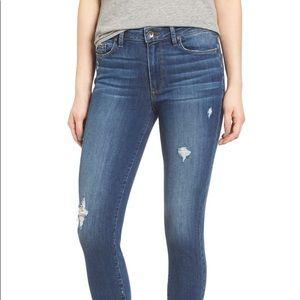 PAIGE - Hoxton High Waist Crop Skinny Jeans